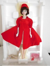 Porcelain Silken Flame Barbie 1962 Reproduction MIB w/ Shipper Box - $34.99