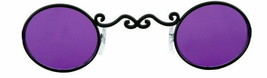 SteamPunk Cosplay Vampire Gothic Nightstalker Purple Eye Glasses, NEW UN... - $12.59