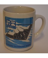 1988 NORTHROP B-2 Stealth Bomber ~ Heat Activated ~ Coffee Cup Mug Air F... - $19.95