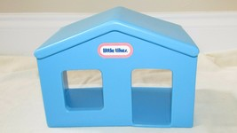 Little Tikes interstate expressway road roadway blue train station house piece - $12.02