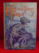 THE LAND THAT TIME FORGOT Edgar Rice Burroughs 1st/McClurg dust jacket - $1,862.00