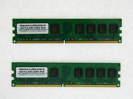 2GB Kit 2X 1GB DDR2 PC2-4200 533Mhz Dell Dimension 5150C 9150 Memory RAM