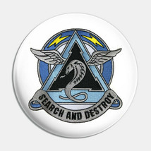 US Army 307th Attack Helicopter Battalion Button Pin - $9.89