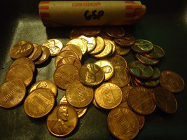 1965 BU ROLL OF LINCOLN CENTS >>> COMBINED SHIPPING - $6.92