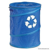 Coghlan's Pop-Up Recycle Bin Trash Cans Wastebaskets Household Supplies ... - $21.29