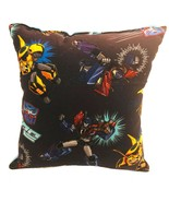 Transformers Pillow Bumble Bee & Prime Pillow Handmade in USA - $10.34