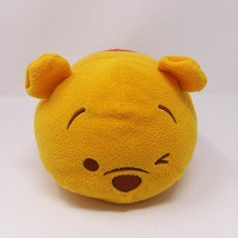 "Disney Store WINNIE THE POOH 11"" Plush Tsum Tsum  Large RARE Winking pillow - $24.95"