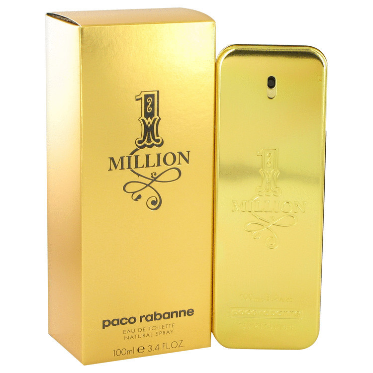 Paco Rabanne 1 Million Cologne 3.4 Oz Eau De Toilette Spray