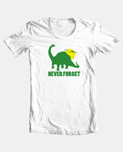 Never Forget T shirt dinosaur novelty funny vintage 100% cotton graphic tee image 4