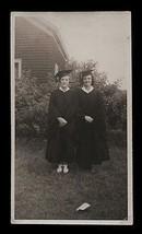 Graduate Cap & Gowns Photograph Ethel Gould Virginia Durnham Identified ... - $12.99