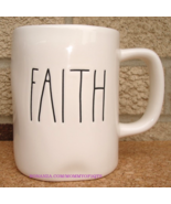 Rae Dunn FAITH Coffee Mug Tea Cup Artisan Collection Farmhouse Letters - $12.00