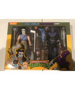 "NECA TMNT 7"" Cartoon Series Wave 3 Casey Jones & Foot Soldier 2 Pack. NEW - $89.09"