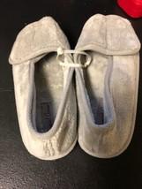 Daniel Green Tara II Open Toe Terry Slippers Size 7 - £14.96 GBP