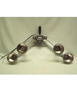 Vintage Mayfair Mini/Versal Flexmaster Lights movie flood R 30 bulbs, or... - $15.00