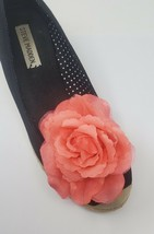 Pink Color Flower Clip for Shoes (2 piece), Flower Shoe Clips, Prom Shoes - $12.99
