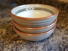Three (3) Noritake PUEBLO MOON Soup Bowls 8457 - $32.10