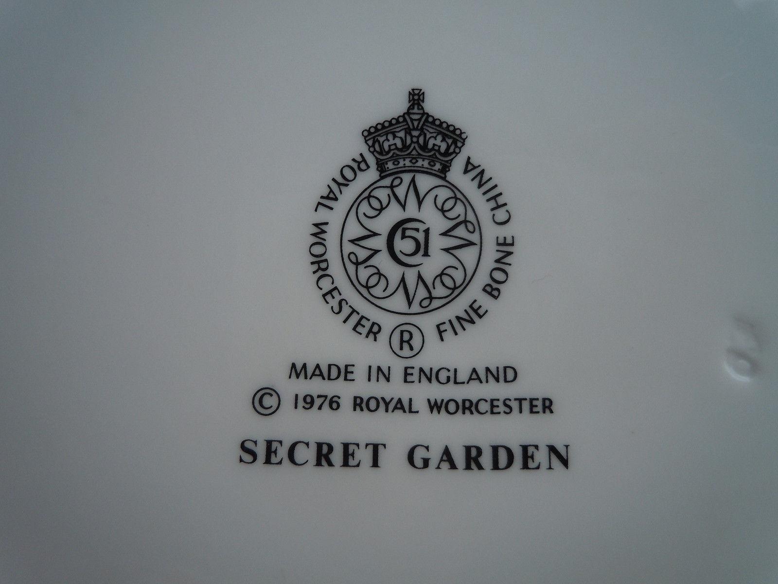Royal Worcester Secret Garden Cup and Saucer