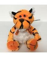 "Reeses Tiger Plush Stuffed Animal Sings Galerie 7"" Tall Sitting  - $23.76"