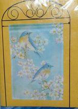 New Creative 25379 Impressions Bluebird Blossoms Indoor Outdoor Garden Flag image 5