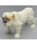 DOLLHOUSE MINIATURE BULL DOG STANDING #RA0179 - $4.20