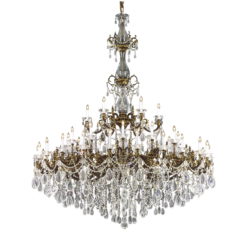 "Primary image for AM4900:""Romanza"" Lighting by Pecaso Crystal Chandelier (42""-72"" Wx76""H ) $5,280+"