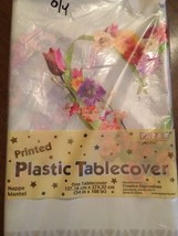 Floral Vintage Table Cover Plastic Tablecloth Floral Romance - €9,29 EUR