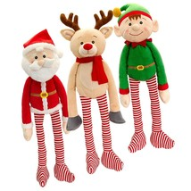 Keel Toys 30cm Dangly Xmas Characters (Choice of 3 Characters) - SX0489 - $19.99