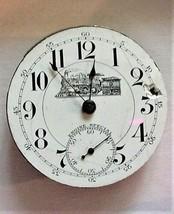 Vintage Railroad Engine Special Pocket Watch Movement Parts or Repair - $24.70