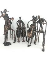 Vintage Interlude Home Brutalist Flute Violin Drum Cello Horn Musical Br... - $692.99