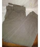 "Lee Classic Fit Men's Straight Leg Jeans Light Khaki Green 40""x30"" 100% ... - $10.00"