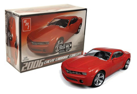 AMT 2006 Chevy Camaro Concept 1:25 Scale Model Kit AMT631L/12 New in Box - $24.88