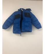 US Polo Association Boys Sporty Bubble Jacket , Blue/Black 5/6 - $11.64