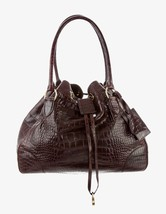 Ralph Lauren RL Genuine Crocodile/ Alligator Burgundy Drawstring  XLarge... - $2,178.00