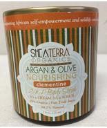 Argan & Olive Nourishing Body Scrub 8 oz. Clementine - $13.56