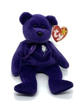 TY Princess Diana Beanie Baby, Made in China, P.E. Pellets 1997 - $55.43
