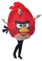 Rovio Angry Birds Red Costume Adult Halloween Party Unique Funny PM751813 - $62.99