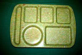 SET OF 4 BRAND NEW PROLON WARE 9853 TRAYS Melmac Melamine Confetti Speckle  - $23.38