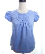 Gap blue Blouse XS - $14.00