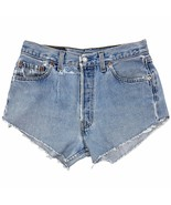 Vintage Levi's 501 Cut Off Shorts 29 Waist Made USA Button Fly High Rise... - $39.99