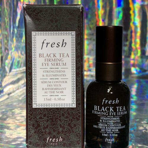 NEW IN BOX 15mL (FULL SIZE) fresh Black Tea Firming Eye Serum