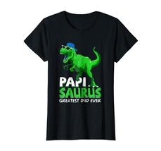 Brother Shirts - Papisaurus T-Shirt | Greatest Dad Ever 2018 T-Shirt Wowen image 3