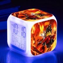 Lego Movie #11 Led Alarm Clock Figures LED Alarm Clock - $25.00