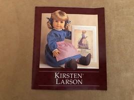 Meet Kirsten Larson Pleasant Co pamphlet booklet American Girl doll Stor... - $12.50