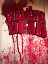 The Walking Dead Hooded Bath Robe Red - $32.18