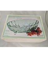 """Indiana Glass Oval Center Fruit Bowl Pastel Green 8"""" x 12"""" Box - $29.95"""