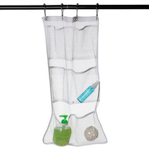 Quick Dry Hanging Bath Organizer Holder w/ 6 Pockets Metal Buckles - $8.93
