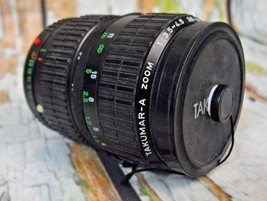 Takumar-A Zoom 1:3.5~4.5 28~80mm plus Tiffen 58mm SKY 1-A Filter - $14.85