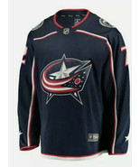 NHL Sergi Bobrovdky Sz S Hockey Jersey #72 Fanatics COLUMBUS BLUE JACKET... - $39.10