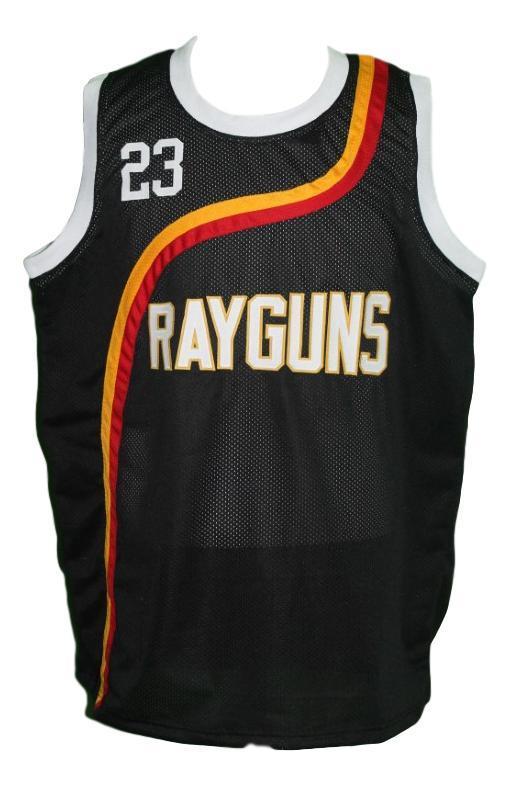 Michael jordan  23 roswell rayguns basketball jersey black   1