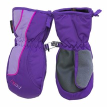 HEAD Jr Sweet Violet Purple Pink Girls Insulated Ski Mittens Winter Gloves NWT image 1